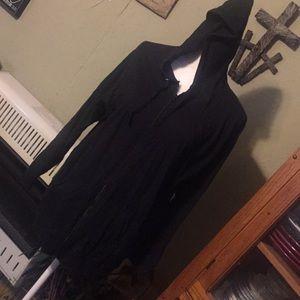 Just My Size hooded knit jacket. Sz 2X (18W/20W)